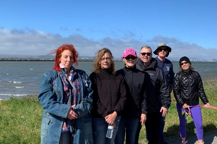 Courtesy photo &nbsp&nbsp Local realtors gathered to reduce pollution along a stretch of Alameda's coastline for Earth Day.