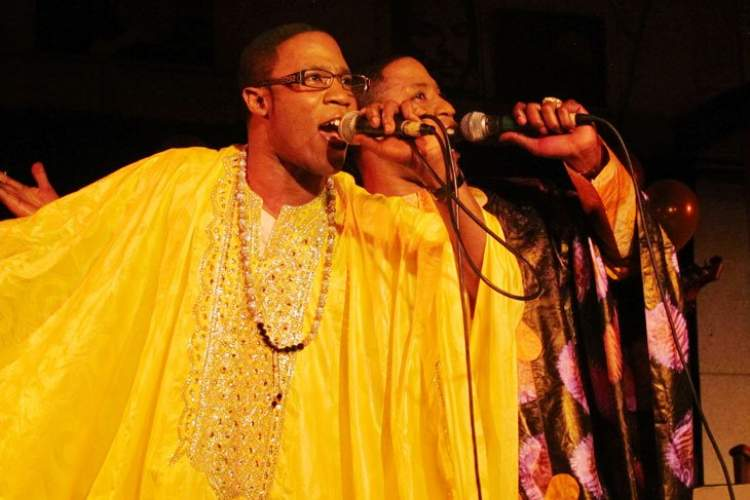 Courtesy photo &nbsp&nbsp Sekhou Senegal brings the sounds of West Africa to the Island City this Saturday as part of the Rhythmix Cultural Works 'Round the World Festival. The event, featuring several other performances, food, drink, arts and crafts is free to the public.