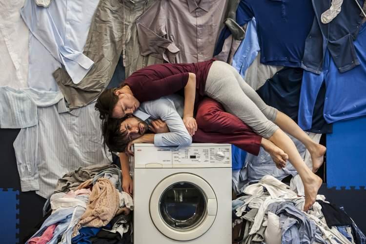 "Courtesy photos &nbsp&nbsp Tara Pilbrow's modern dance piece ""2+1"" interprets the desperation associated with becoming new parents."