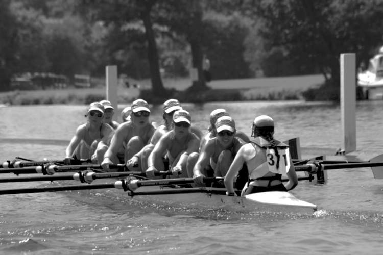 Courtesy photo &nbsp&nbsp The Worcestor Polytechnic Institute women's varsity rowing team competed at the Henley Regatta in Henley-on-Thames, England, during the 2017 season.