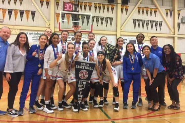 Chris Pondok &nbsp&nbsp The St. Joseph Notre Dame women's basketball team beat Arcata High, 90-47, to capture the North Coast Section Div. IV title on March 3.