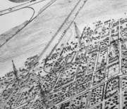 Alameda Argus map excerpt of the West End.