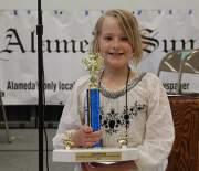 Hazel Purins, Spelling Bee Champion
