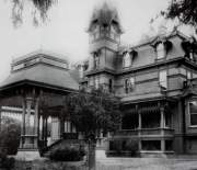 "The Dingee Mansion is among the buildings discussed in ""A Balloon Ride Over Historic Webster Street."""