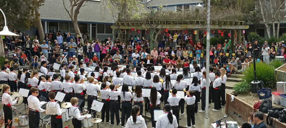 Photo by Brando Ho - The Lincoln Middle School Band