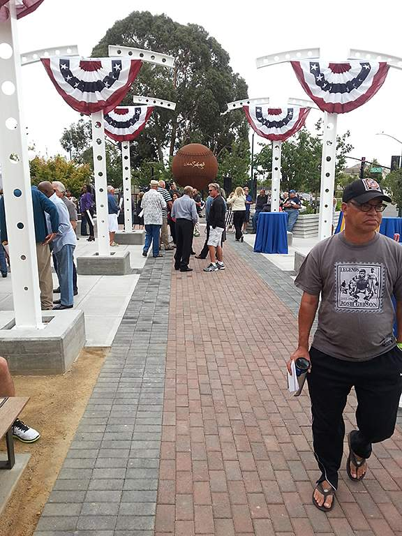 Stargell Plaza Dedication photo by Eric J. Kos