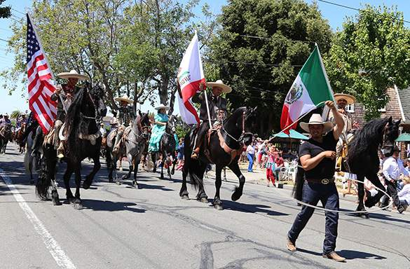 Rancho El Fortunado took home the parade's highest honor: the Mayor's Trophy. Photo by Kevin Francis Barrett