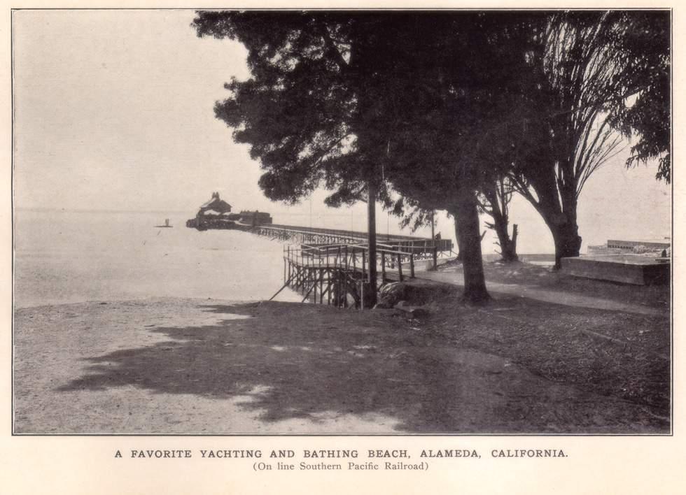 A scenic Alameda postcard