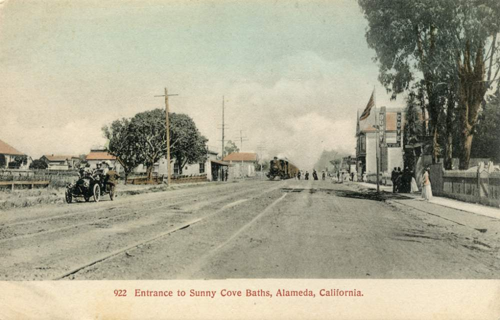 Sunny Cove Baths was at Central Avenue and Fifth Street.