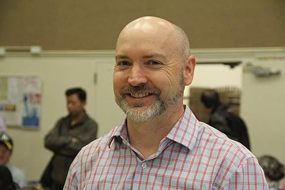 Head Speller, University of San Francisco Economics Professor, Michael Jonas