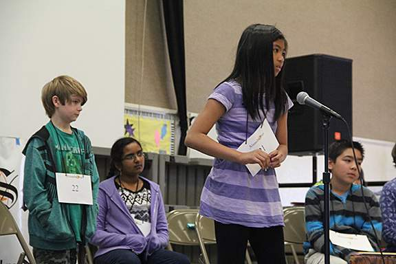 All of the spellers were very brave and handled the situation with aplomb.