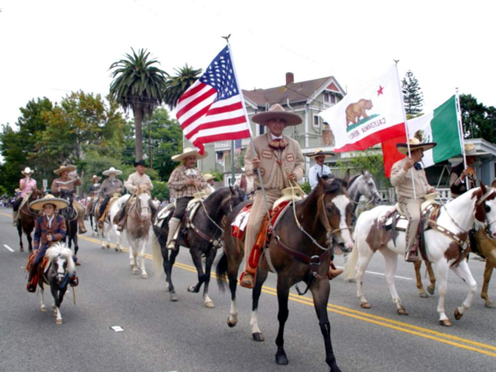 Equestrian riders a huge part of the parade