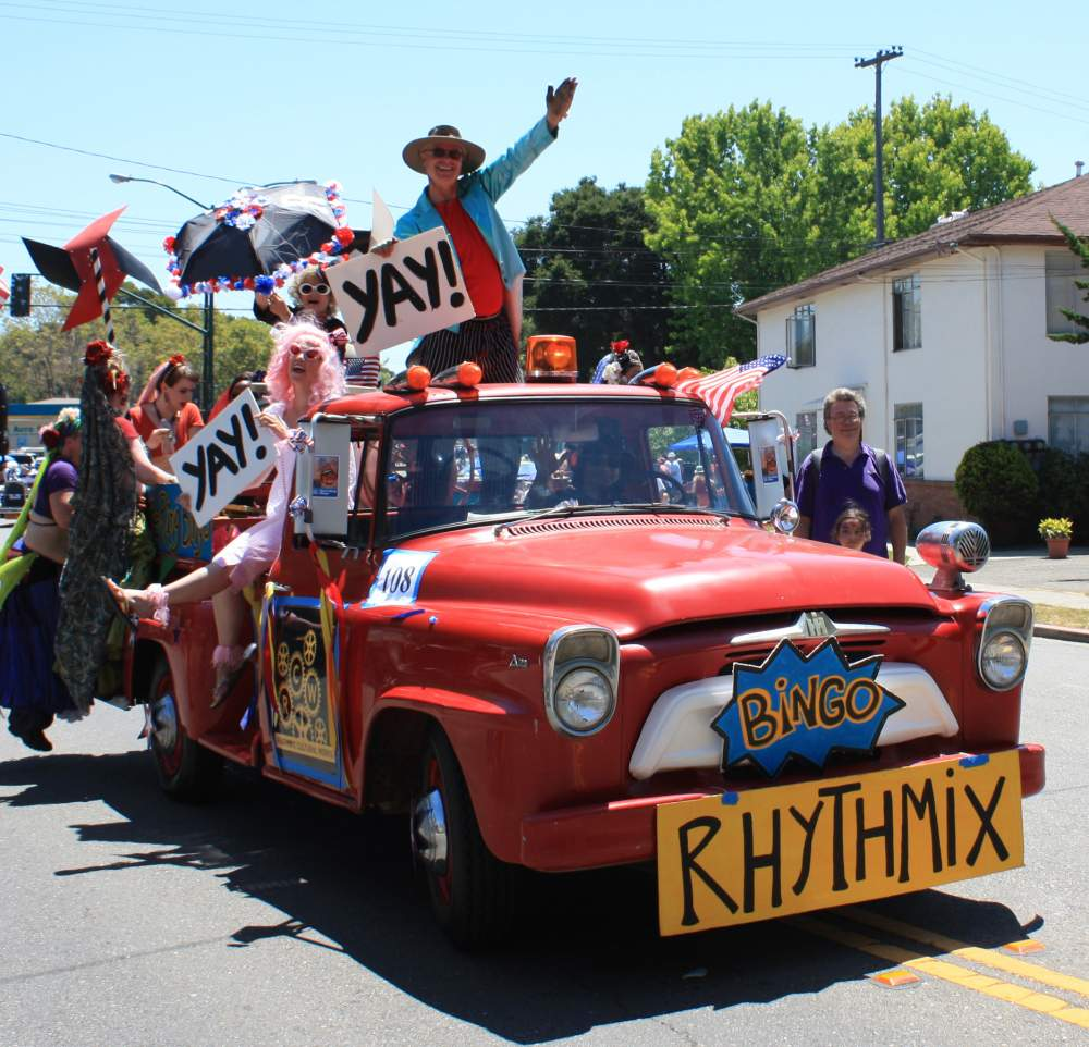 Rhythmix Cultural Works about to win a trophy