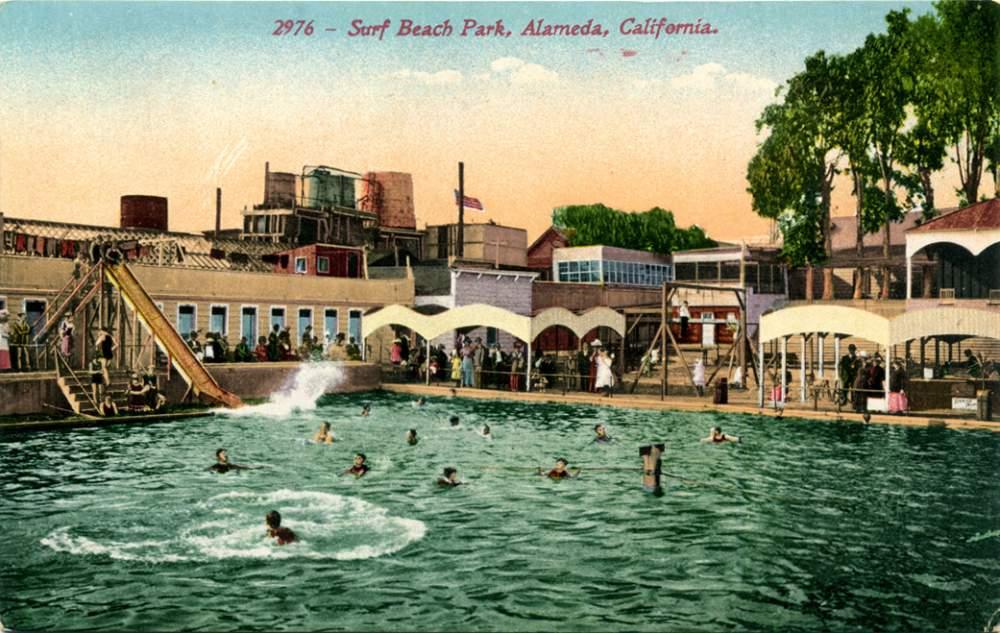 Surf Beach Park was a precursor to Neptune Beach