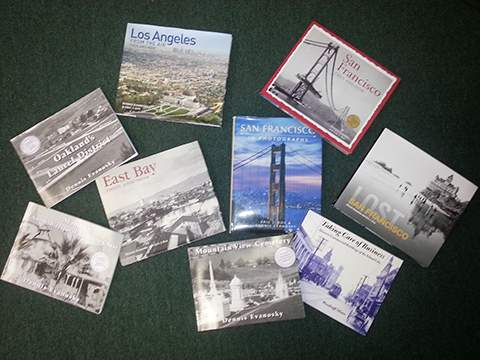 Book titles either published, produced or authored by Dennis Evanosky and Eric J. Kos.