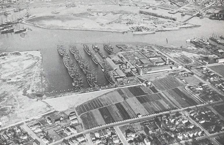 """The Alaska Packers feature centrally in """"The History of Oakland Estuary."""""""