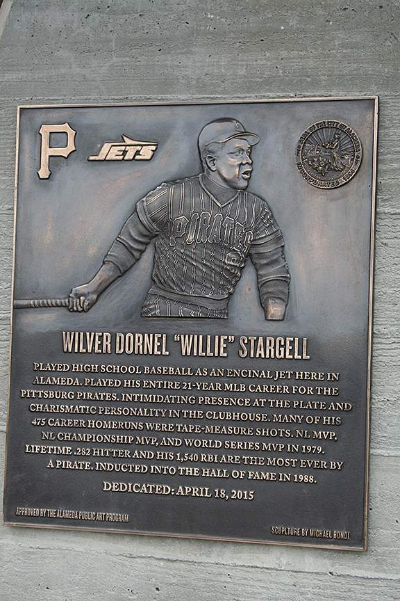 Stargell Dedication photo by Mike Lano