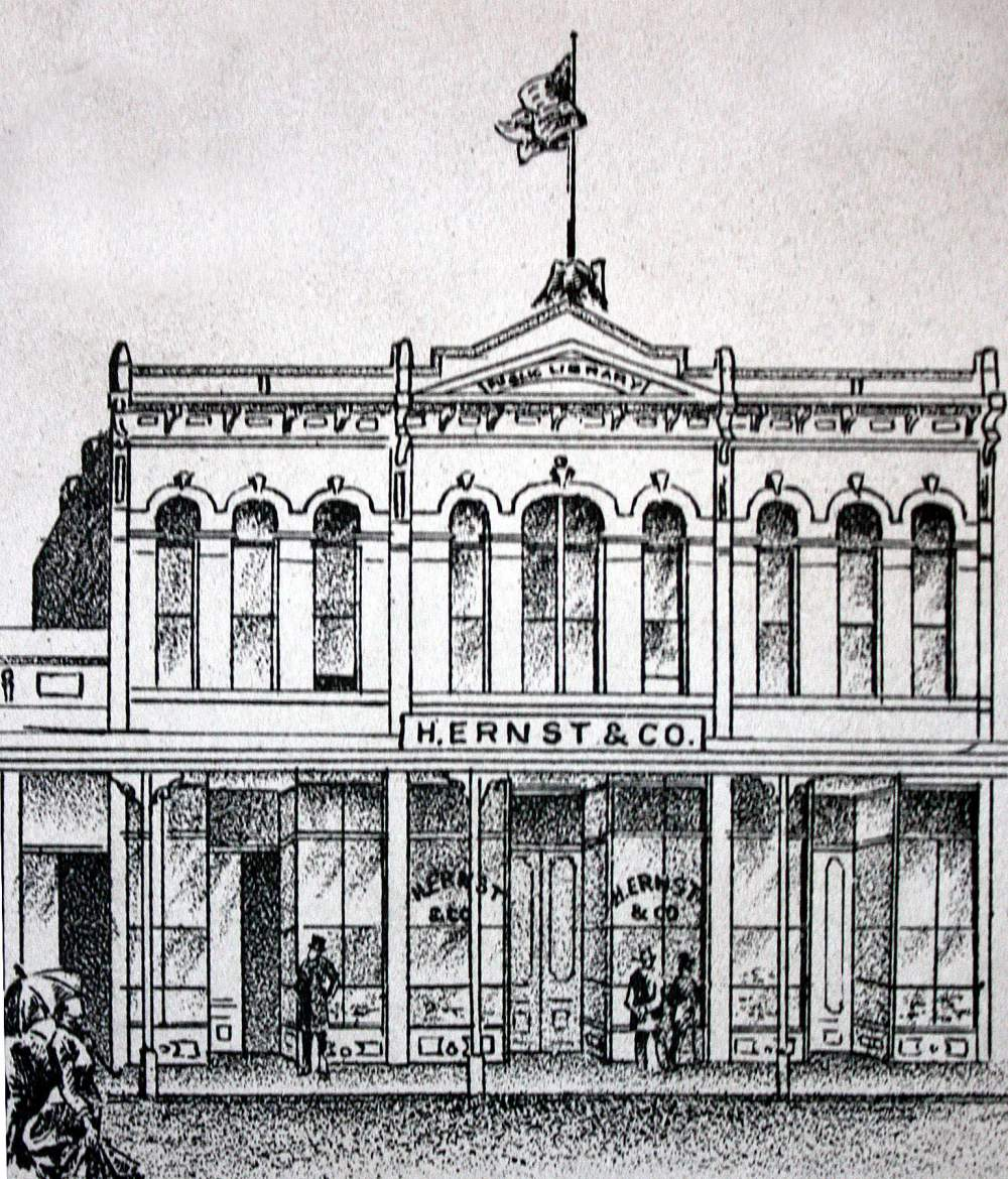 "The city's first library on Park Street is discussed in ""The History of Alameda's Libraries."""
