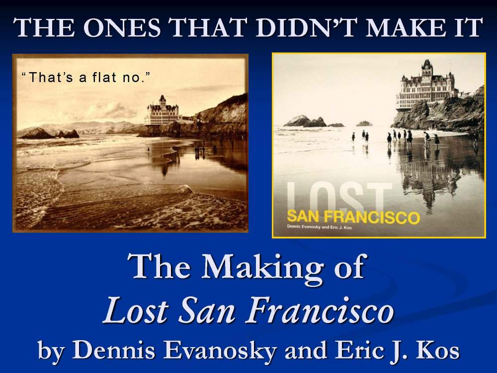 Dennis Evanosky and Eric J. Kos can present on any of their published history titles and their creation.