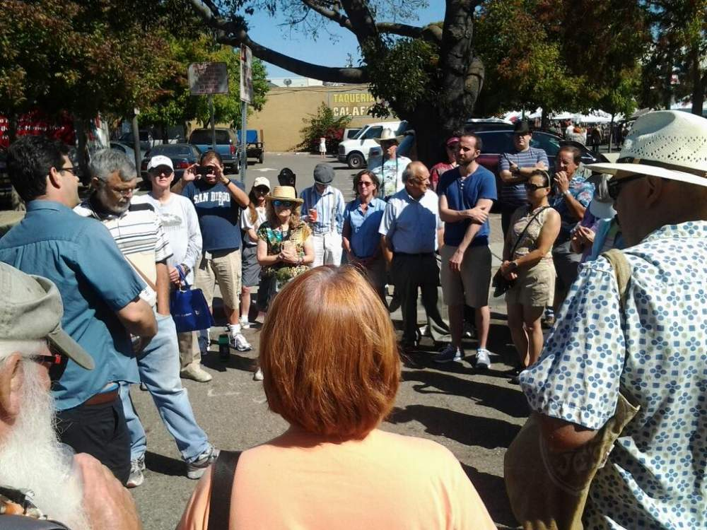 """""""Neptune Beach and Environs"""" is among the many tours Eric and Dennis lead."""
