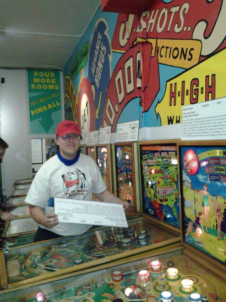 Jim Strehlow is the grandson of Neptune Beach founder Robert Strehlow. Jim volunteers at Alameda's Pacific Pinball Museum, in a way continuing the family's legacy of amusement.