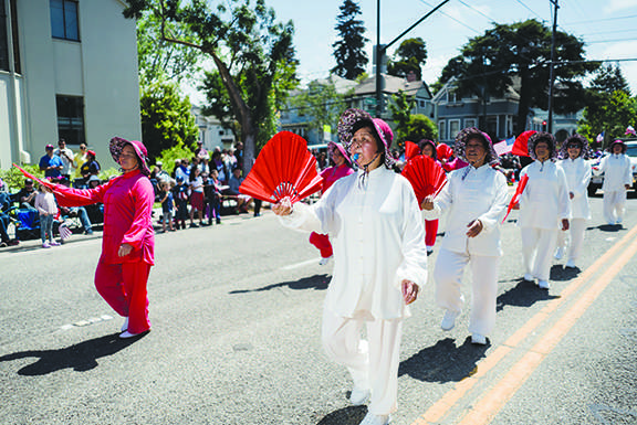 The East Bay Toishan Association joined the festivities.
