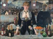 "Courtesy photo &nbsp&nbsp At the time of its unveiling in 1882, Edouard Manet's ""A Bar at the Folies-Bergère"" proved highly controversial. Learn more about this groundbreaking impressionist painter in a discussion at Mastick Senior Center, Monday, March 9."