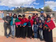 Courtesy Photo &nbsp&nbsp An Alameda High School grad spent seven weeks in the Chimborazo region of Ecuador living with a host family and working on a microenterprise project as  part of the AMIGOs program. Learn more about the program next Thursday at Rhythmix Cultural Works.