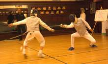 "File photo &nbsp&nbsp Pacific Fencing Club Maestro Harold Hayes and his students will present a free demonstration of the ""Art and Sport of Fencing"" Saturday, April 27, at 1:30 p.m."