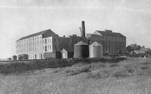 "File photo &nbsp&nbsp Francis Marion ""24-Mule Team Borax"" Smith owned this borax factory once located on Alameda's West End. It also appears on Alameda's City Seal. Learn all about it from historian Woody Minor at a talk taking place tonight and a walk this Sunday, Aug. 25."