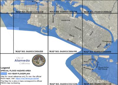 FEMA Releases New Flood Impact Maps | Alameda Sun on