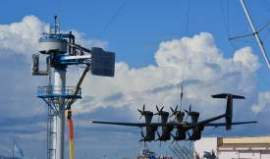 In October, Google-owned Makani was fine-tuning a turbine's docking maneuvers on Alameda Point before deploying it to a test site in Hawaii. The wind energy company moved one step closer to full-scale testing of its electricity-generating kite.