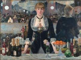 """Courtesy photo &nbsp&nbsp At the time of its unveiling in 1882, Edouard Manet's """"A Bar at the Folies-Bergère"""" proved highly controversial. Learn more about this groundbreaking impressionist painter in a discussion at Mastick Senior Center, Monday, March 9."""