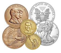 Courtesy usmint.gov  Many numismatists (coin collectors) have proof sets of commemorative coins, like the above, in their collections. Learn more about coin collecting at the library from the Alameda Coin Club on Tuesday, April 4.