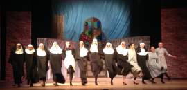 DJ Marilynn  Members of the Encinal Junior and Senior High School Drama Department will be performing Sister Act 2 throughout the weekend.