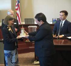 A visit to Alameda by the sister city delegation from Dumaguete, Philippines, in June caused concern in the Pacific island city, as factions in government debated whether or not the visit was official.