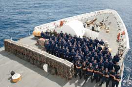 The Alameda-based USCG Stratton helped bust some major drug traffic with a $181 million cocaine seizure in Mexico's waters in August. A semi-submersible vessel carrying more than 16,000 pounds of cocaine was the Stratton's target, on the heels of a June drug bust netting another 5,460 pounds of the drug.