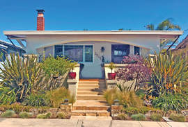 Courtesy photo &nbsp&nbsp Homeowners Deborah Morgan and John Oldham; designers, Derek Pavlik Design; and contractors, Matt & Sam Najdek of Ore-Cal Construction, Inc. will earn honors for their porch remodel at 2525 Noble Ave. at the annual Preservation Awards  hosted by the Alameda Architectural Preservation Society on Sunday, June 2.