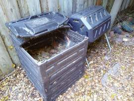 Alison Limoges &nbsp&nbsp A stackable, turnable compost solution