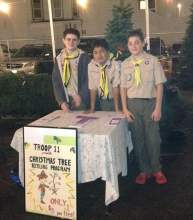 Courtesy photo  For the 45th year, Alameda's Boy Scout Troop 11 will host a Christmas Tree Pickup this Saturday, Jan. 7. For a small  fee, the trees will be mulched and donated to the Alameda Point Collaborative garden program. Residents can purchase tickets and find out more at www.troop11alameda.com or by calling 409-3141.