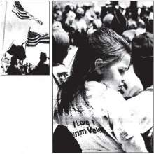 Photos from author's collection The black and white photos above ran with an Alameda Journal story on Veterans Park's dedication ceremony in 1998.