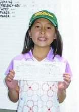 Junior golfer Penny Chai achieved golf's most difficult feat, the hole in one, in June of this year.