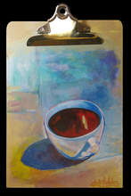 """Courtesy photo &nbsp&nbsp """"Cup of Joe"""" by Octavio Valdez is among the works that make up the new show Breakfast at the Inkblot Gallery. Breakfast opens Friday, Oct. 12."""