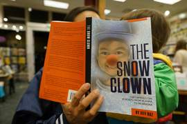 n between Pilbrow's two performances, hear readings from The Snow Clown, a new book by Alameda artist, author and renowned clown, Jeff Raz.