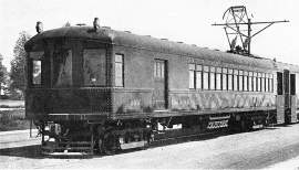 The Big Reds replaced the South Pacific Coast trains in 1911.