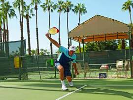 Courtesy USAPA.org  The sport of pickleball is a unique combination of tennis, ping pong and badminton that is fun for all ages. Learn more about the sport right here in Alameda Wednesday, March 15.