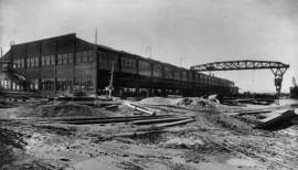 Photos courtesy Historic American Building Survey &nbsp&nbsp Union Iron Works paid $1 million — $18.3 million in 2020 dollars — to build this turbine machine works in 1918. For a time it stood as the largest structure on the Pacific Coast. Supporters of the 1973 Measure A played a role in the building's demolition in 1985.