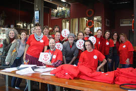 Dennis Evanosky &nbsp &nbsp Clad in union T-shirts and displaying union signs, Alameda Unified School District teachers met at the Island City Brewery in January as they prepared to march on Park Street. Their activism paid off: the union and the school district tentatively agreed a new contract just last week.