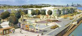 City of Alameda &nbsp&nbsp A park and promenade will complement the development plans for Alameda Landing that the Planning Board recently approved.