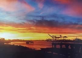 Courtesy photo. Enjoy stunning sunset views from around the Island City throughout the new calendar by resident photographer, and regular Alameda Sun contributor, JoanAnn Radu-Sinaiko.